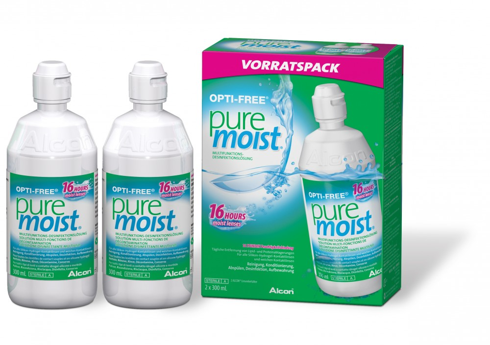 OPTI-FREE pure moist Spar-Set - 2 x 300ml