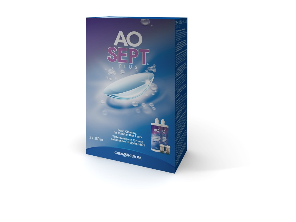 AOSEPT PLUS 2er Set - 360ml
