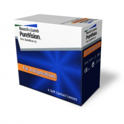 PureVision Toric - torische Monatslinsen / 6er Box