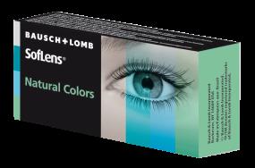SofLens Natural Colors - farbige Monatslinsen / 2 Stück
