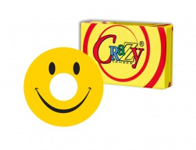 "Crazy Lenses - Motivlinse ""Smiley"""