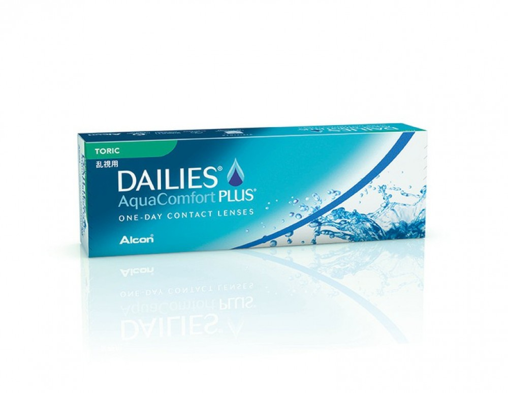 Focus Dailies AquaComfort Plus Toric 30er Box