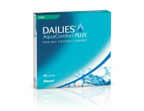 Focus Dailies AquaComfort Plus Toric 90er Box