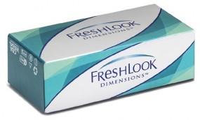FreshLook Dimensions - Monatslinsen / 2 Stück