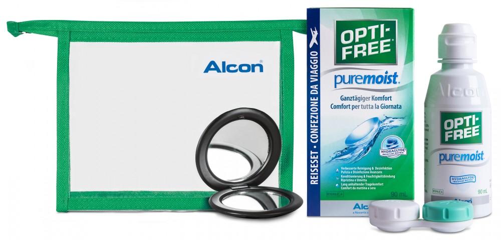 OPTI-FREE pure moist - 90ml Reise-Set