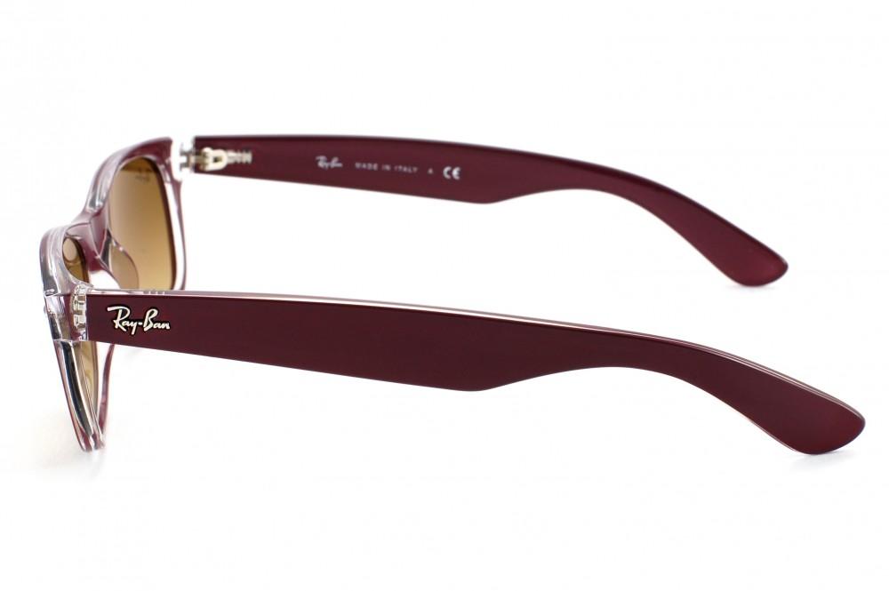 ray ban sonnenbrille wayfarer rb2132 braun 52